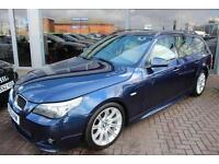 BMW 520d M SPORT TOURING. FINANCE SPECIALISTS