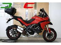 2012 Ducati Multistrada 1200 ABS Red 11,833 Miles