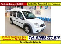 2010 - 60 - FORD TOURNEO CONNECT TREND 1.8TDCI 4 SEAT DISABLED ACCESS MINIBUS