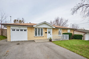 3 Bedroom Renovated Bungalow For Rent In Ajax With Large Lot