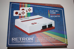 Retron FC Loader Game NES red and white Console
