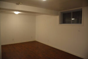 All inclusive newer basement apt