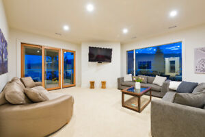 COMPLETELY RENOVATED (LIKE NEW) HUGE WATERFRONT HOME FURNISHED