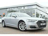 2018 Audi A8 3.0 TDI V6 50 Tiptronic quattro (s/s) 4dr Saloon Diesel Automatic