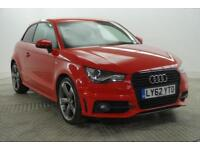 2012 Audi A1 TDI S LINE BLACK EDITION Diesel red Manual