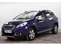 2015 Peugeot 2008 E-HDI ALLURE FAP Diesel blue Semi Auto