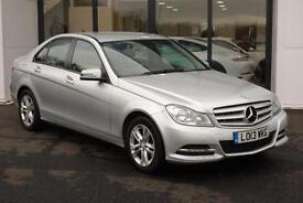 2013 Mercedes-Benz C Class 2.1 C220 CDI BlueEFFICIENCY SE (Executive Pack)