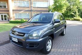 2008 Kia Sportage 2.0 Left hand drive lhd Spanish Registered
