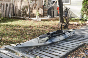 Wilderness Systems Pungo 120 Fishing Kayak and Accessories.