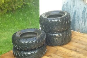 4 used ATV tires for sale.....