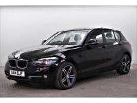 2014 BMW 1 Series 118D SPORT Diesel black Manual