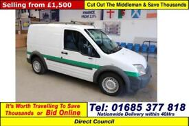 2009 - 58 - FORD TRANSIT CONNECT L200 1.8TDCI 75PS EURO4 VAN (GUIDE PRICE)