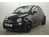 2012 Fiat 500 TWINAIR PLUS Petrol black Manual