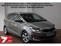 2013 Kia Carens 1.7CRDi 2-ONLY 30K-FULL SERVICE HISTORY-7 SEATER-CRUISE-B/TOOTH-