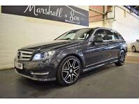 2012 62 MERCEDES-BENZ C CLASS 2.1 C220 CDI BLUEEFFICIENCY AMG SPORT PLUS 5D AUTO