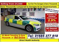 2011 - 11 - BMW 520 AC 2.0TD RAPID REPSONSE 5 DOOR ESTATE (GUIDE PRICE)