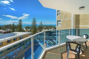 Ocean view master bedroom in central Surfers paradise