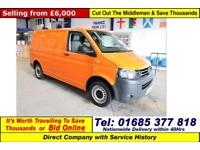 2013 - 13 - VOLKSWAGEN TRANSPORTER T32 2.0TDI 140PS SWB VAN (GUIDE PRICE)