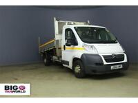 31dc6ac58592a9 2012 CITROEN RELAY 35 HDI 130 L3 LWB SINGLE CAB ALLOY TIPPER WITH TOOL BOX  TIPPE