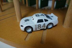 New* Disney Pixar Cars Diecast White #84 Mac iCar Apple 1:55 Loose US Seller