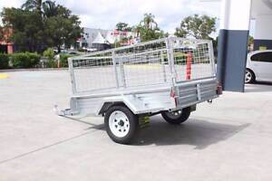 Galvanized Box Trailer (6*4) Coopers Plains Brisbane South West Preview