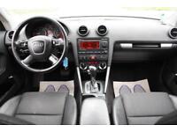 LHD LEFT HAND DRIVE Audi A3 2.0TDI (170PS) Sportback S Tronic 2007 BLACK S LINE