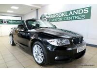 BMW 1 SERIES 118i M SPORT Convertible [3X SERVICES and LEATHER]