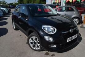 2016 Fiat 500X 1.4 MultiAir Pop Star (s/s) 5dr Petrol black Manual