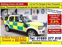 2010 - 10 - LAND ROVER DISCOVERY 3.0 TDV6 AUTO GS RAPID RESPONSE 4X4