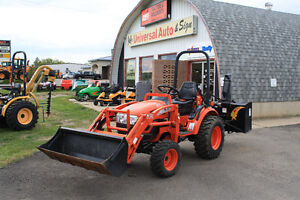 2010 KIOTI CK20S TRACTOR with LOADER used