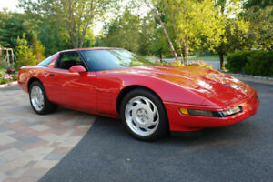 Swap/Trade  1987 Red Corvette C4