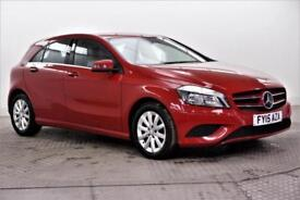 2015 Mercedes-Benz A Class A180 CDI BLUEEFFICIENCY SE Diesel red Automatic