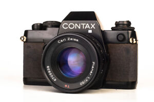 Contax 139 quartz (format 35 mm ) & Carl Zeiss 50 mm 1.7