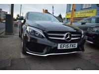 2015 15 MERCEDES C200CDi 134 BLUE TEC AMG LINE GOOD AND BAD CREDIT CAR FINANCE