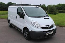 Vauxhall Vivaro 2.0CDTi ( 115ps ) ( EU IV ) 2700 SWB 11 Reg Diesel Van