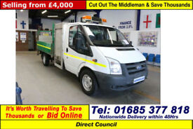 2007-57-FORD TRANSIT T350 2.2TDCI 115PS DROPSIDE C/W500KG TAIL LIFT(GUIDE PRICE)