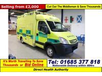 2008 - 08 - IVECO DAILY 3.0HPI WILKER BODY AMBULANCE (GUIDE PRICE)