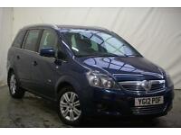 2012 Vauxhall Zafira DESIGN Petrol blue Manual