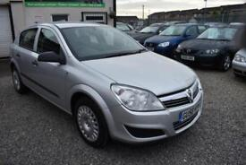 Vauxhall Astra 1.8 AUTOMATIC 5 DOOR 2009MY+SILVER+STUNNING
