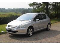 Peugeot 307 1.6 SE,5 DOOR PETROL HATCH,ALLOYS,AIR CON,ONLY 93k miles