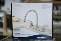 Peerless 2 Handle Faucet  Brushed Nickle Winnipeg Manitoba Preview