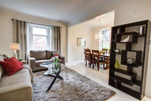Furnished Luxury and spacious house in Westmount