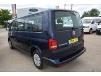 2014 Volkswagen Transporter 2.0 TD T30 SE Mini Bus DSG 4dr (LWB) Diesel blue Aut