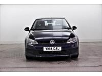 2014 Volkswagen Golf SE TDI BLUEMOTION TECHNOLOGY Diesel blue Manual