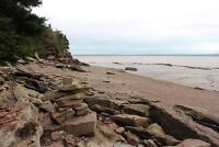 1200 feet on the OCEAN! Bay of Fundy, NB - 61+ acres waterfront