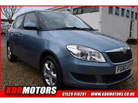 2010 Skoda Fabia Se 1.6 Tdi 69k F/S/H ONLY £20 ROAD TAX DRIVES SUPERB