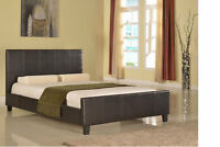NO TAX Faux Leather Bed Single Double or Queen $149.00