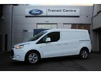 NEW Ford Transit Connect 1.5TDCi 120PS L2 240 Limited in White + Nav - PREORDER