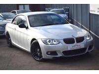 2011 BMW 3 Series 330 Convertible 3.0d 245 Sport Plus Edition St6 Diesel silver