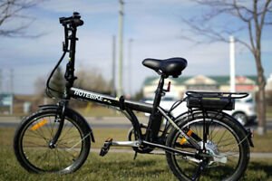 NEW ELECTRIC FOLDING BIKE  $770.00 plus HST
